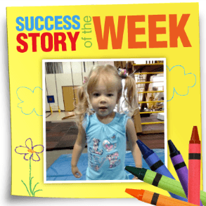 ABC Pediatric Therapy Success Story of the Week Kylie